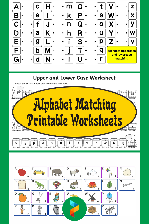 Alphabet Matching Printable Worksheets