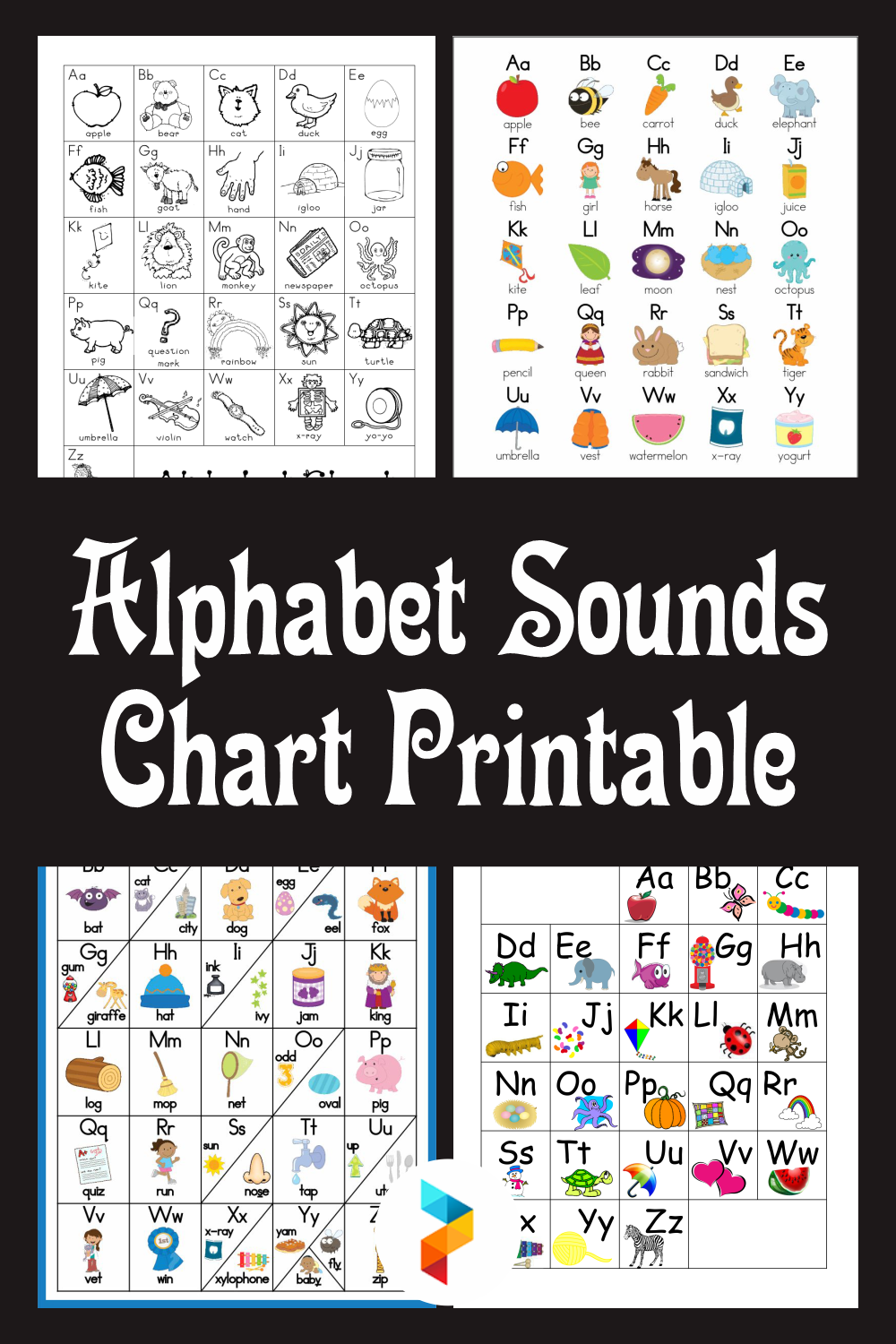 Alphabet Sounds Chart Printable