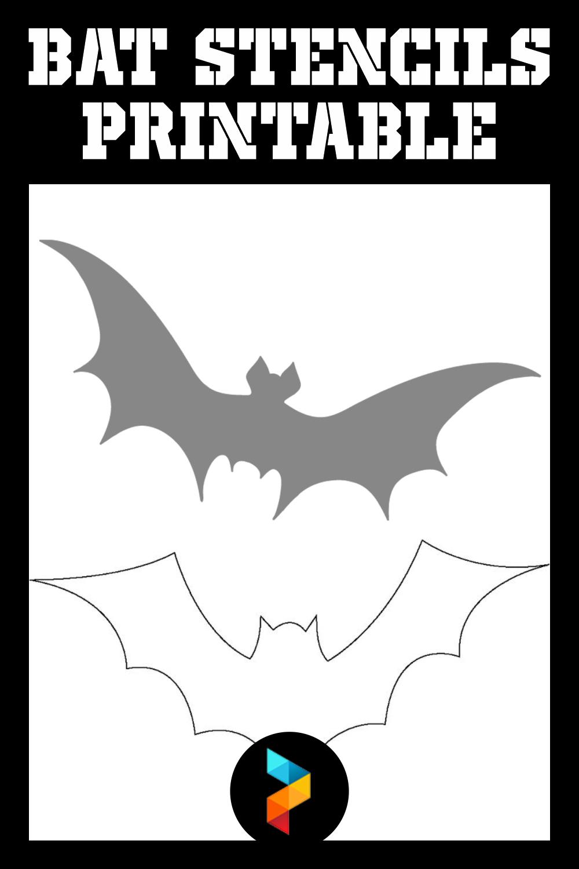 Bat Stencils Printable