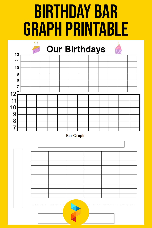 Birthday Bar Graph Printable