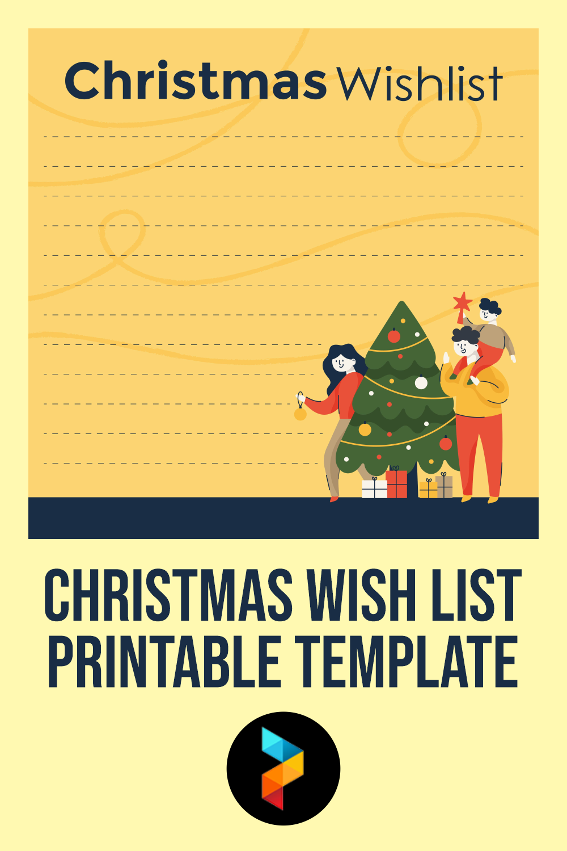 Christmas Wish List Printable Template