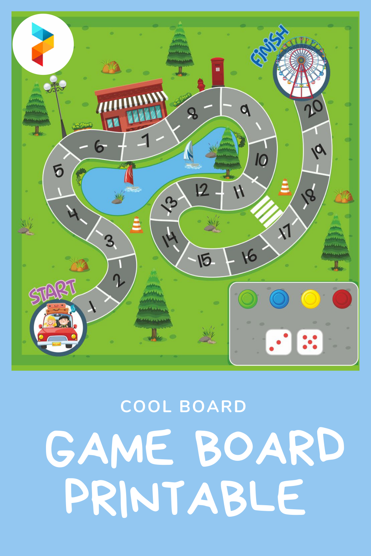 Cool Board Game Board Printable