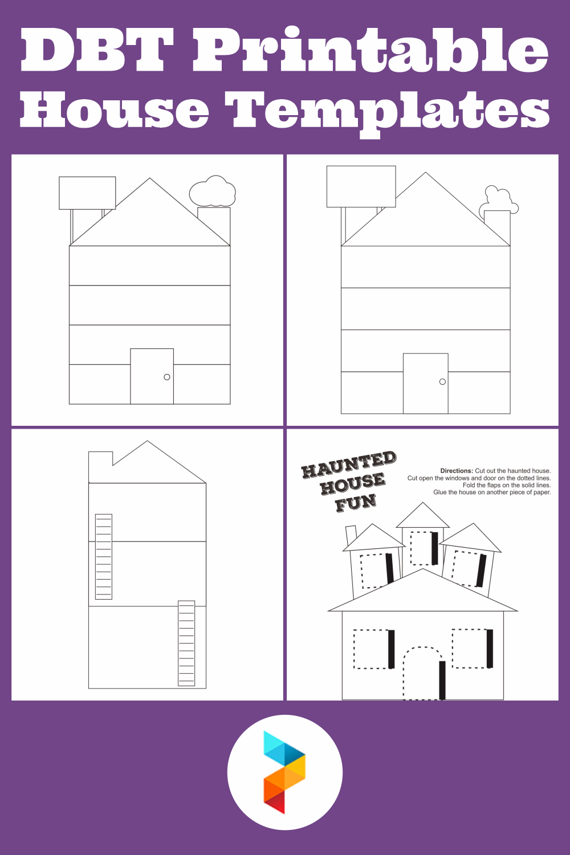 DBT Printable House Templates