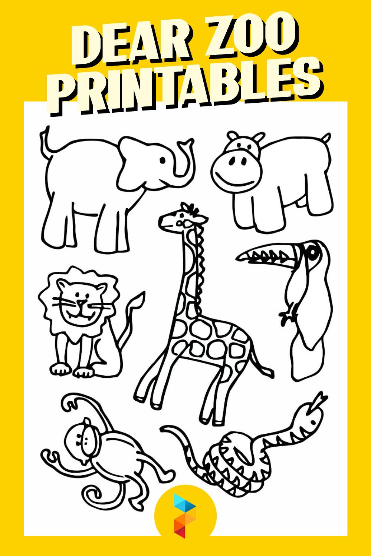 Dear Zoo Printables