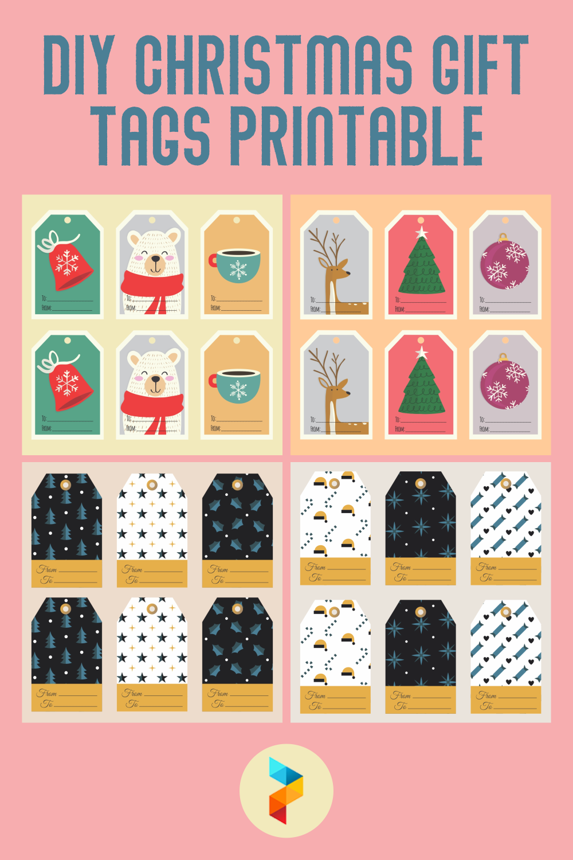 DIY Christmas Gift Tags Printable
