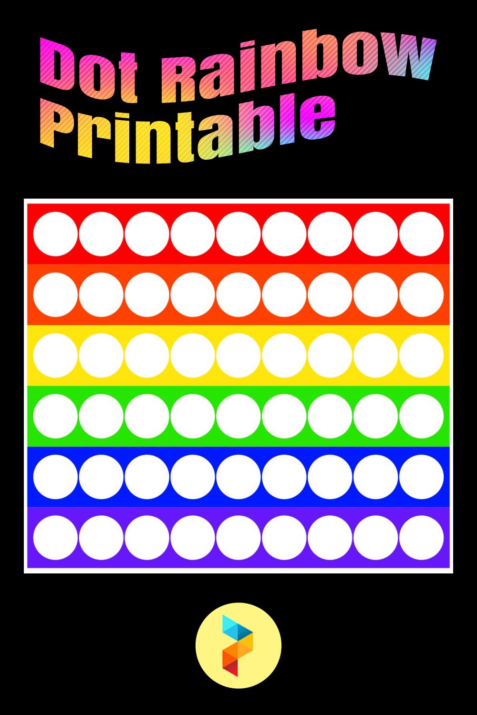 Dot Rainbow Printable