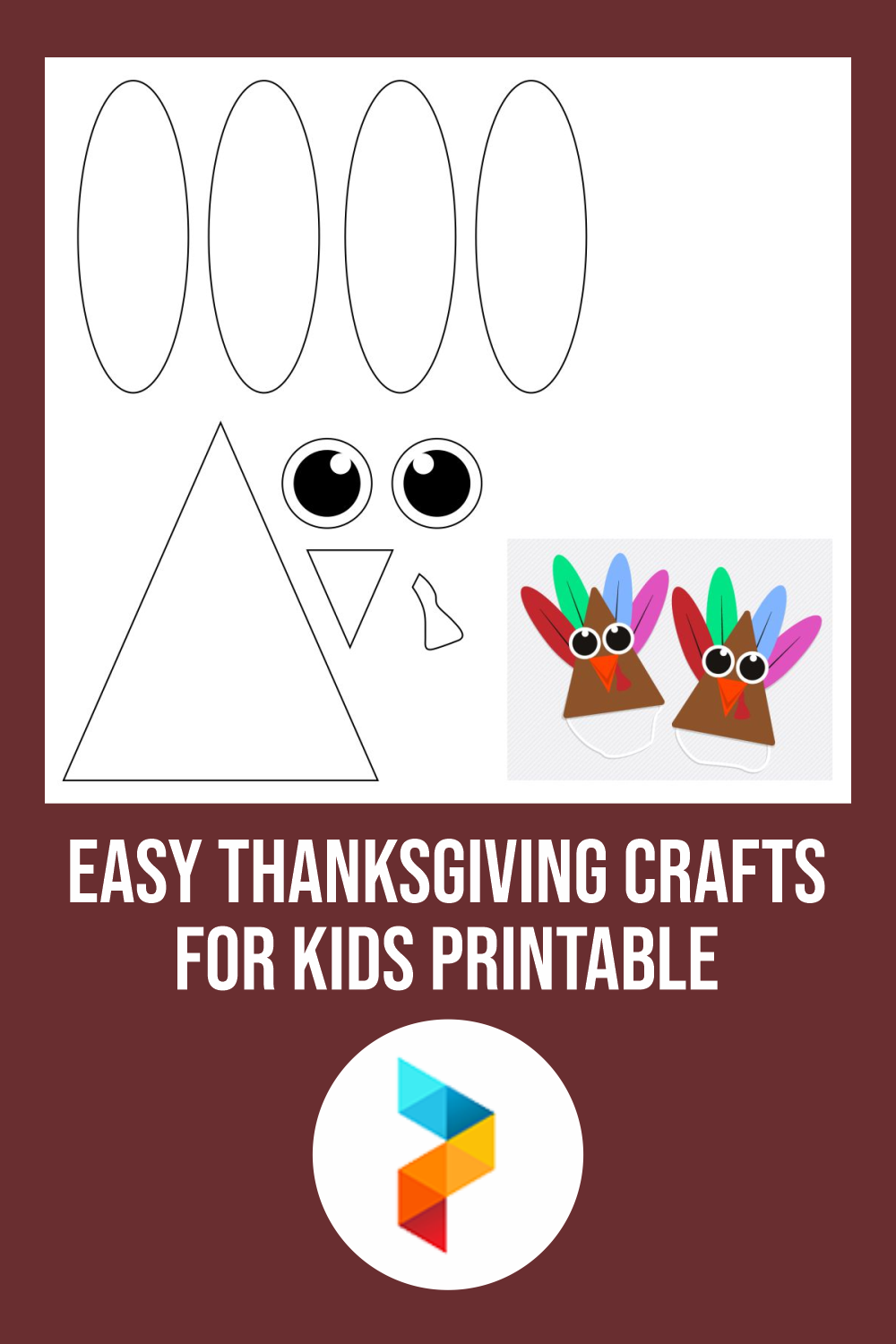 Easy Thanksgiving Crafts For Kids Printable