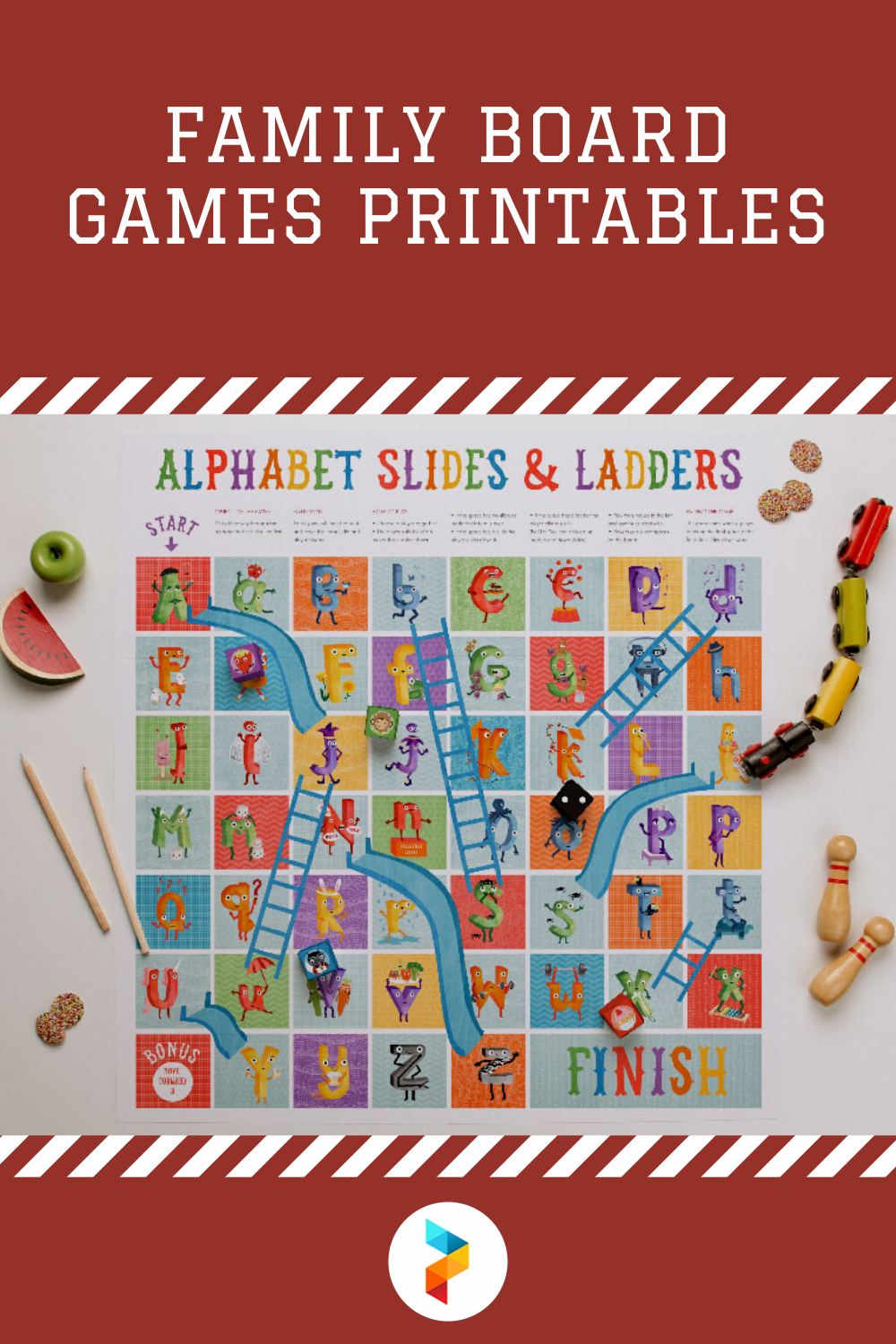 Family Board Games Printables