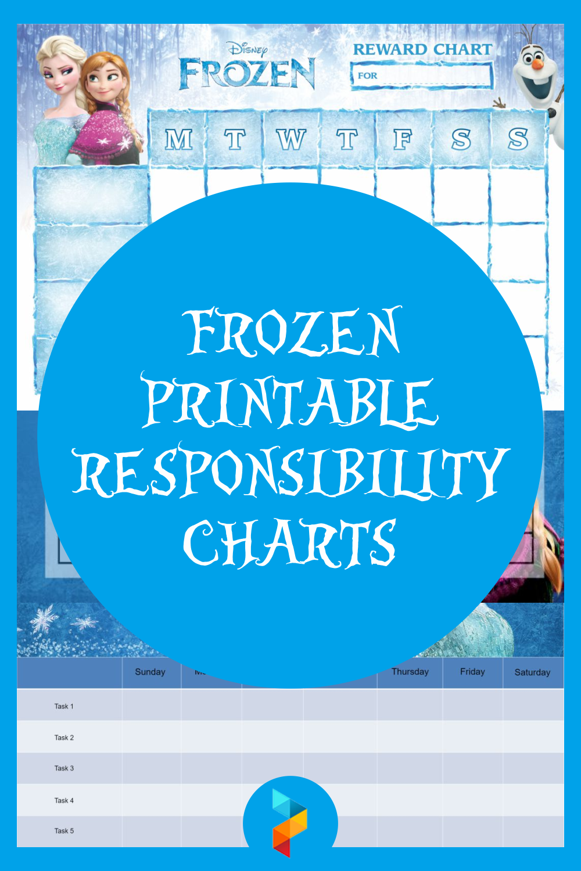 Frozen Printable Responsibility Charts