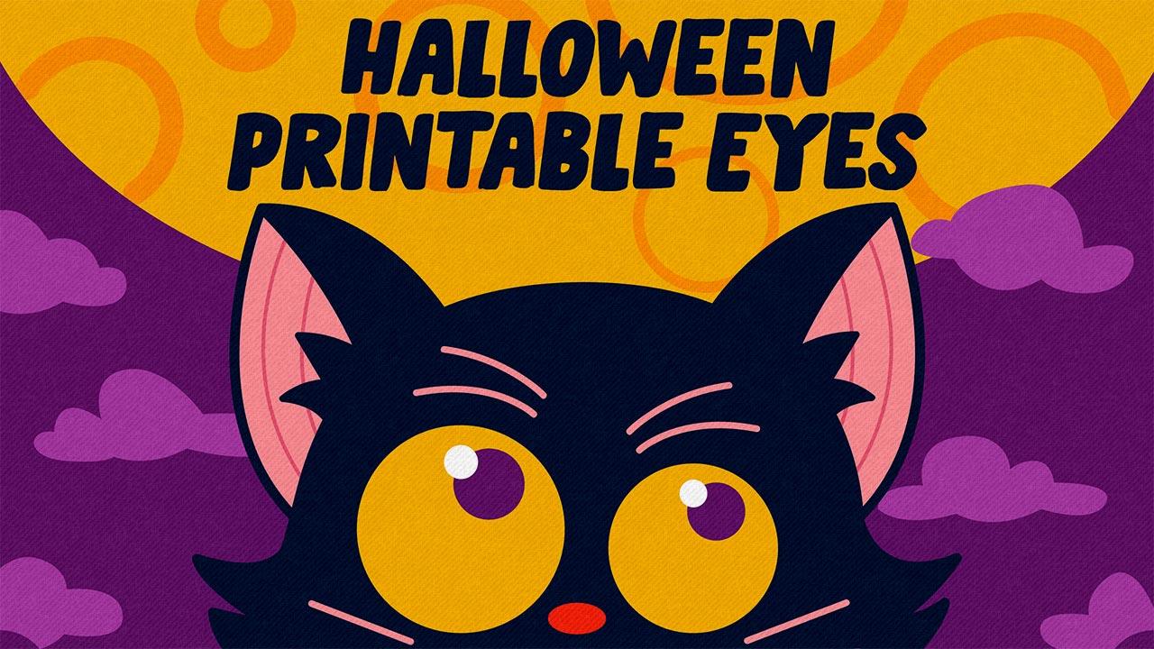 Halloween Printable Eyes