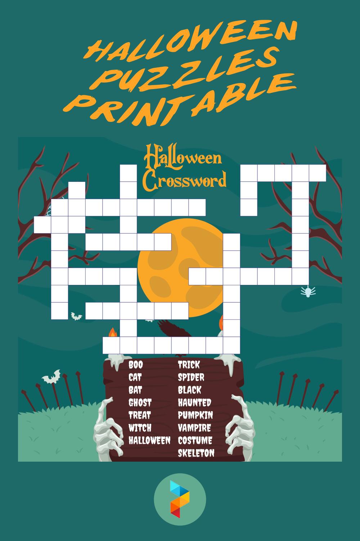 Halloween Puzzles Printable