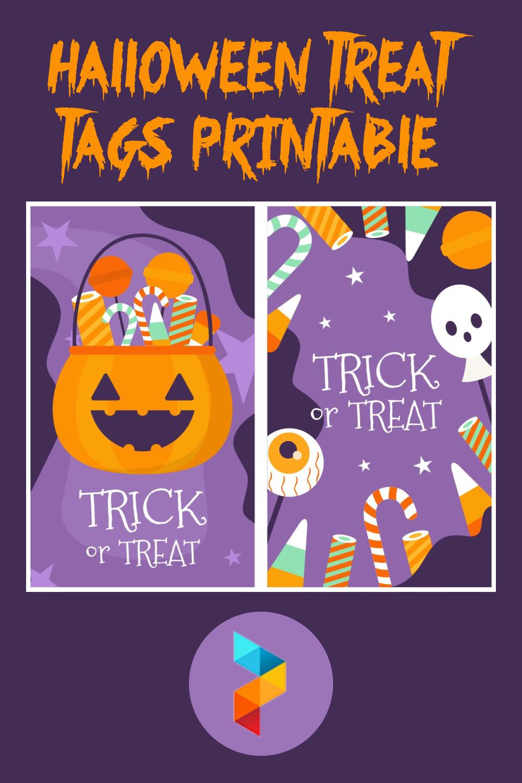 Halloween Treat Tags Printable