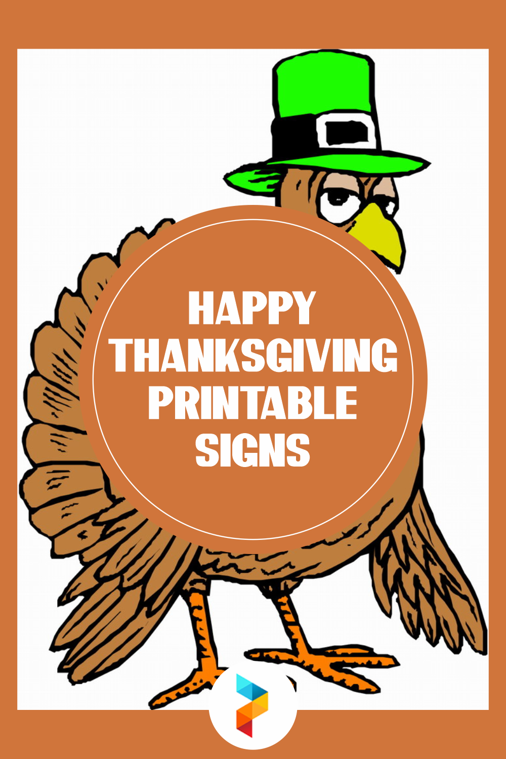 Happy Thanksgiving Printable Signs