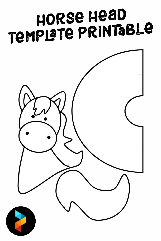 Horse Head Template Printable