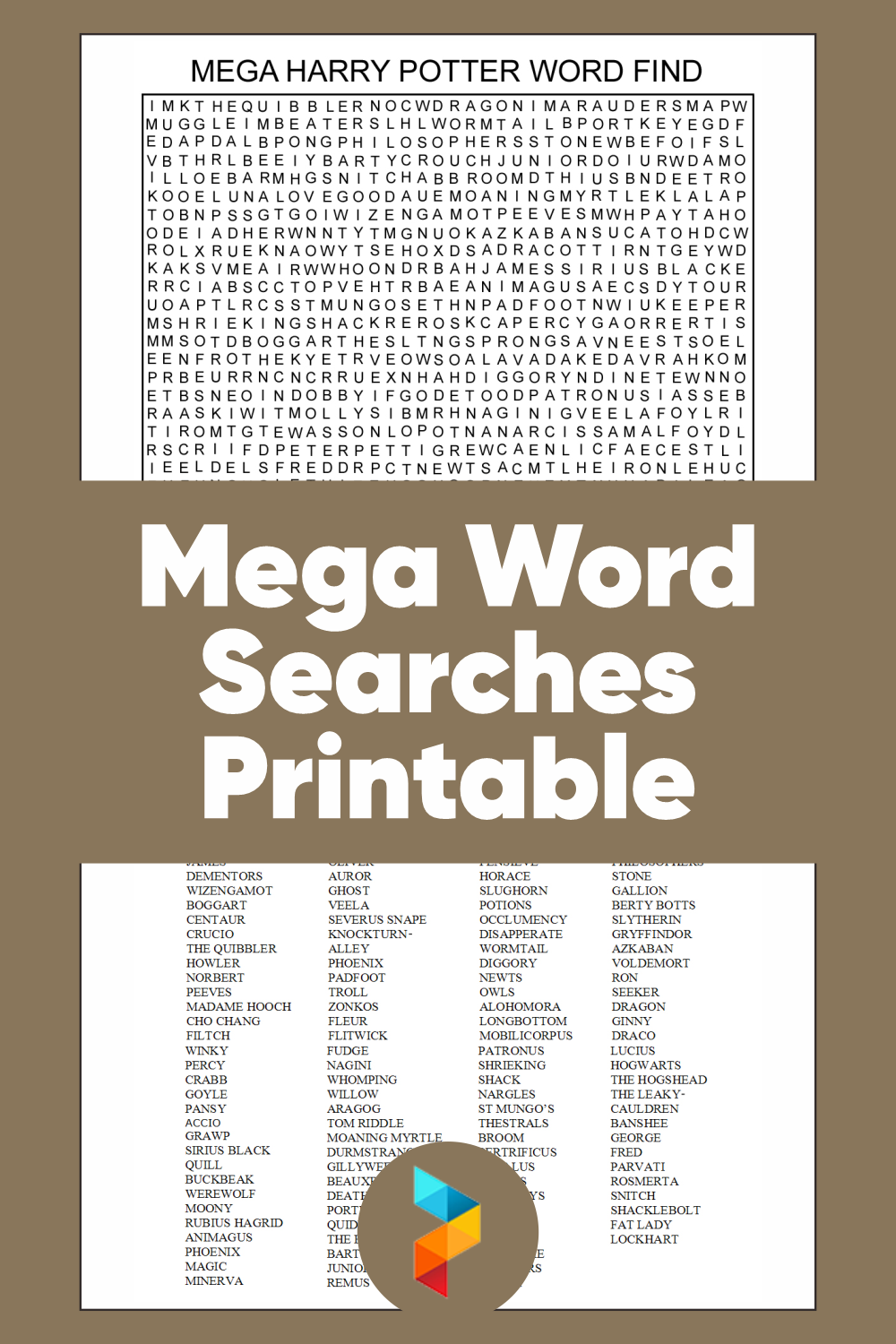Mega Word Searches Printable