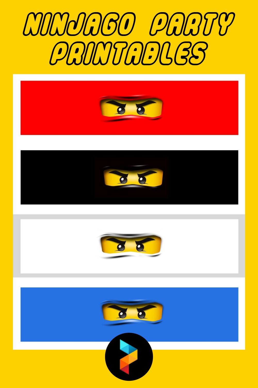 Ninjago Party Printables