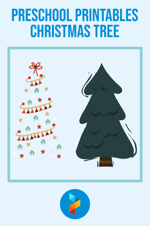 Preschool Printables Christmas Tree