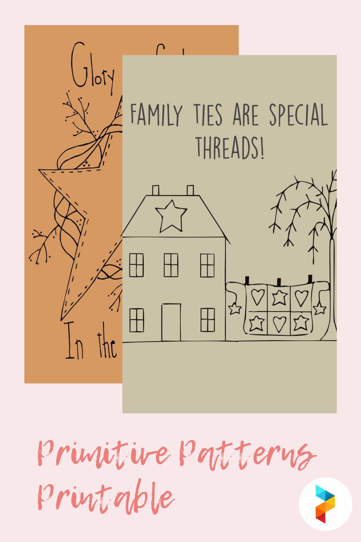 Primitive Patterns Printable
