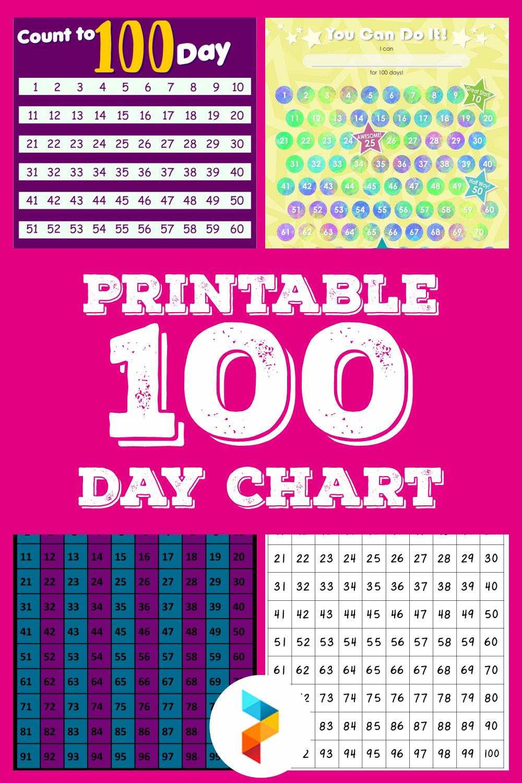 Printable 100 Day Chart