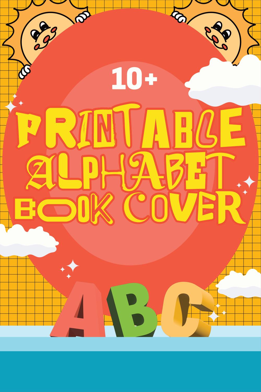 Printable Alphabet Book Cover