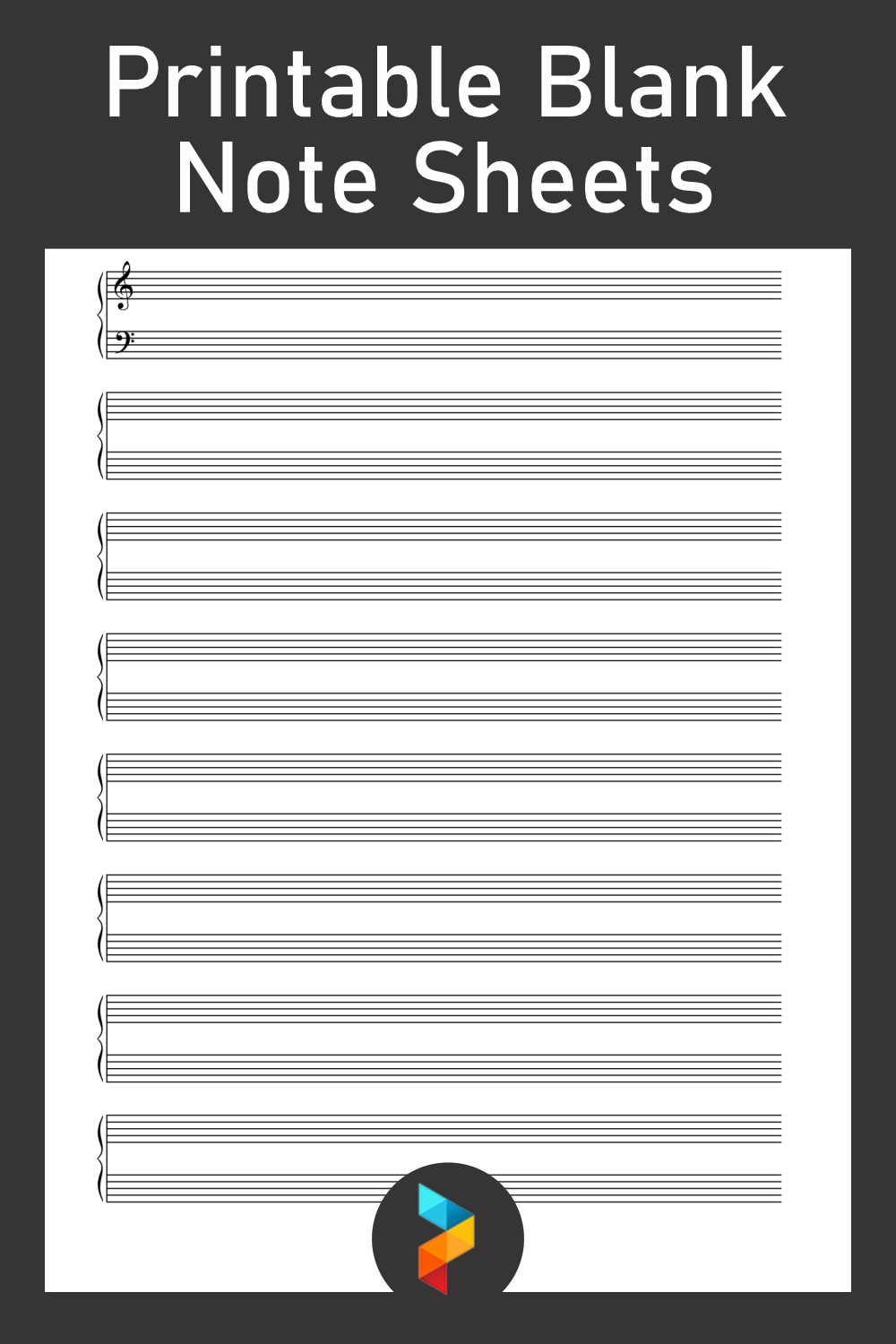 Printable Blank Note Sheets