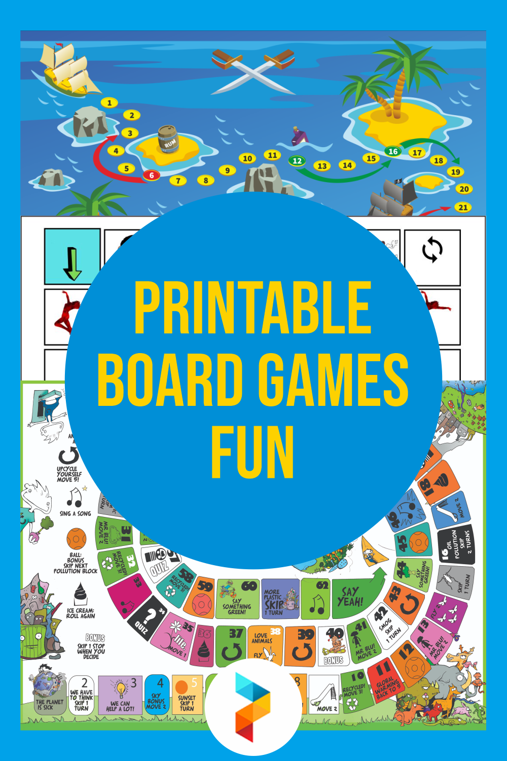 Printable Board Games Fun