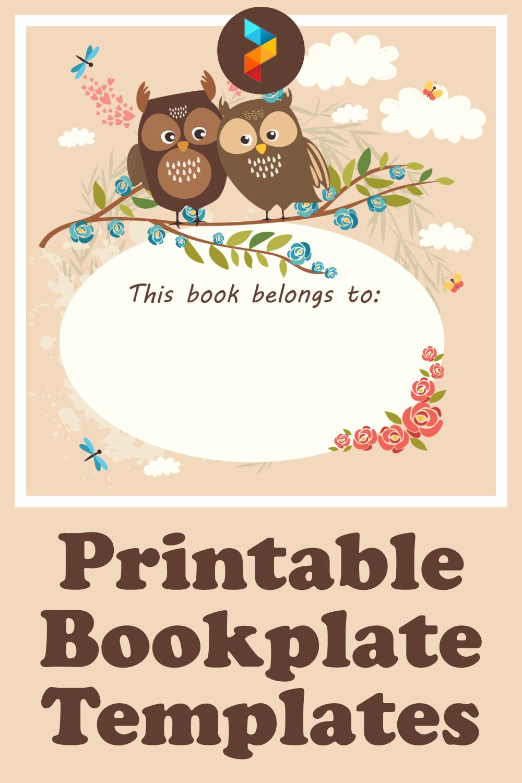 Printable Bookplate Templates