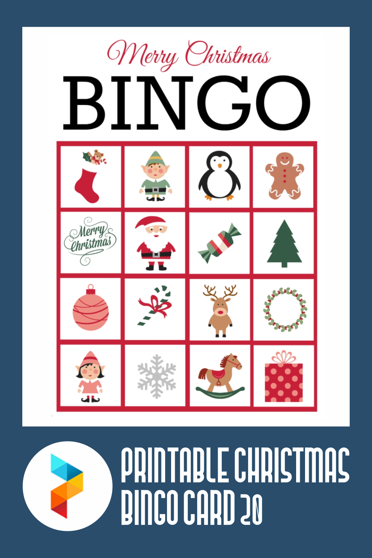 Printable Christmas Bingo Card 20
