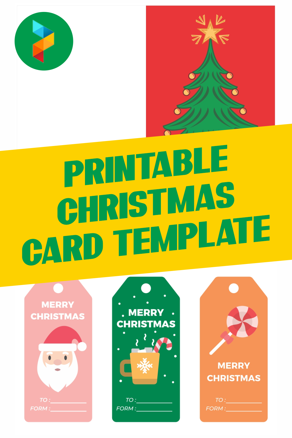 Printable Christmas Card Template