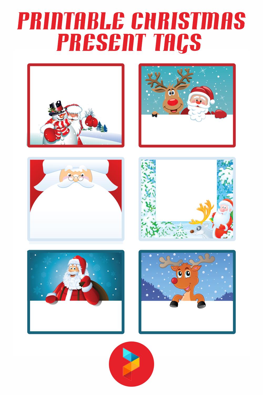 Printable Christmas Present Tags