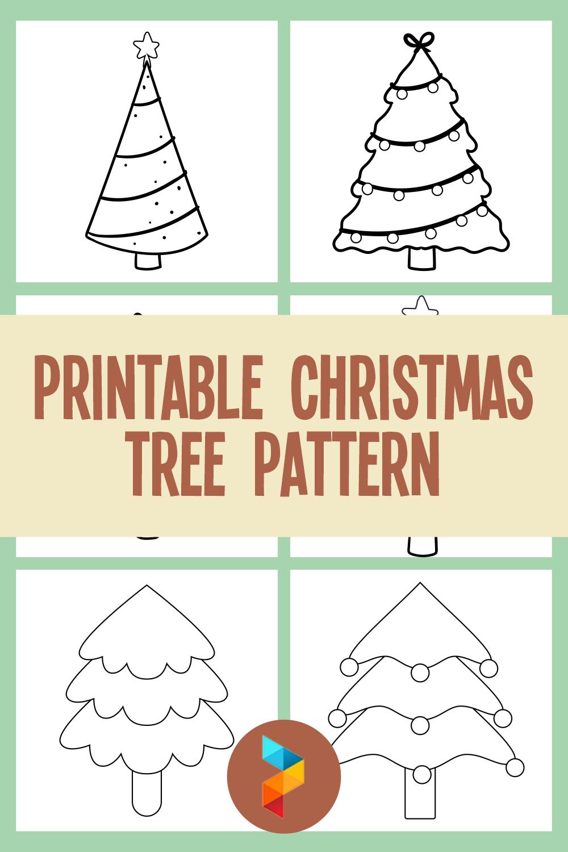 Printable Christmas Tree Pattern