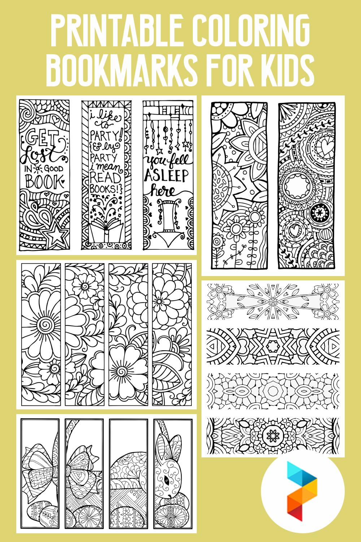 10 Best Free Printable Coloring Bookmarks For Kids Printablee Com