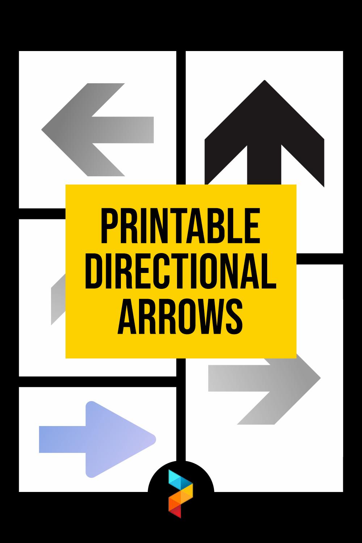 Printable Directional Arrows