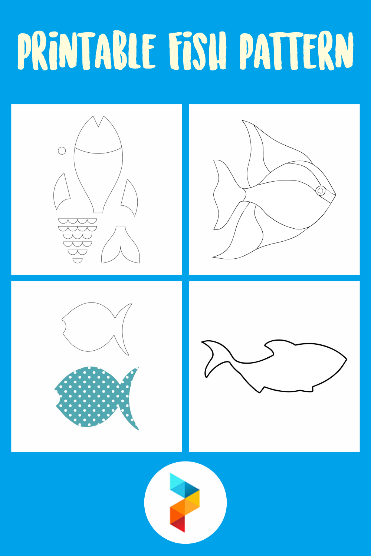 Printable Fish Pattern