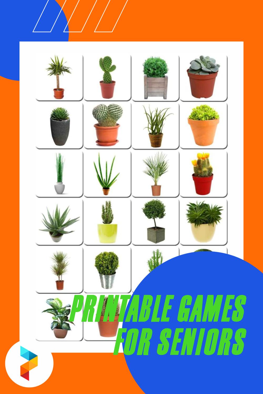 Printable Games For Seniors