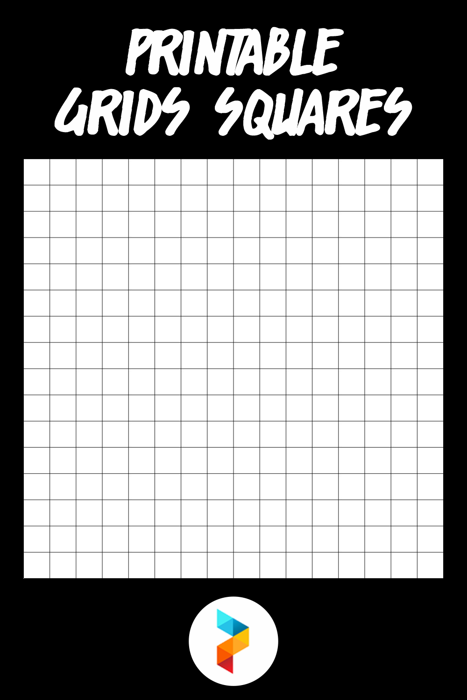 Printable Grids Squares