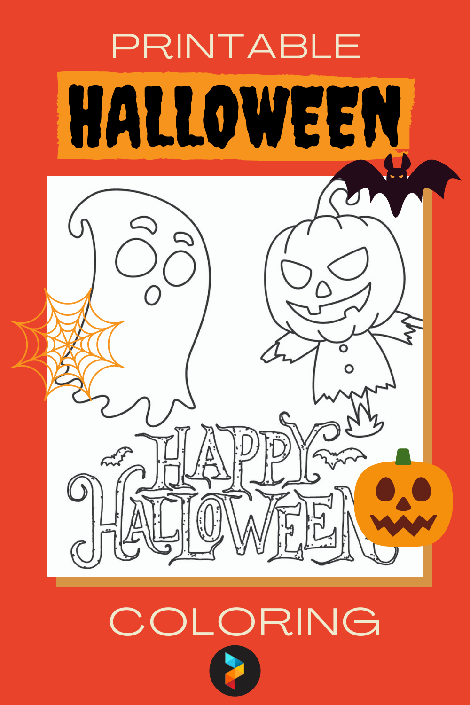 Printable Halloween Coloring