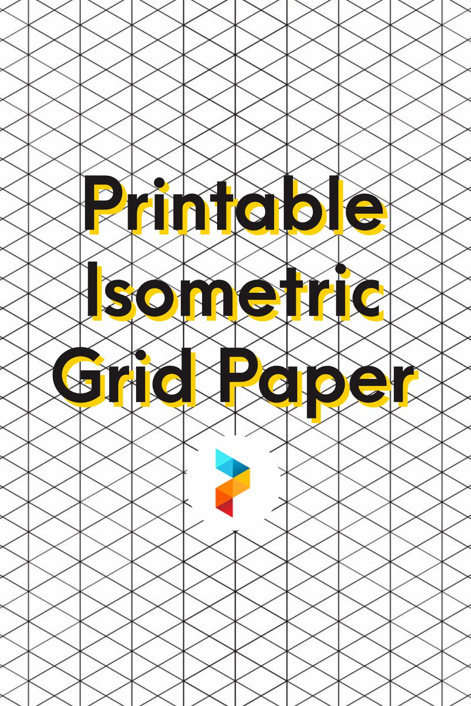 Printable Isometric Grid Paper