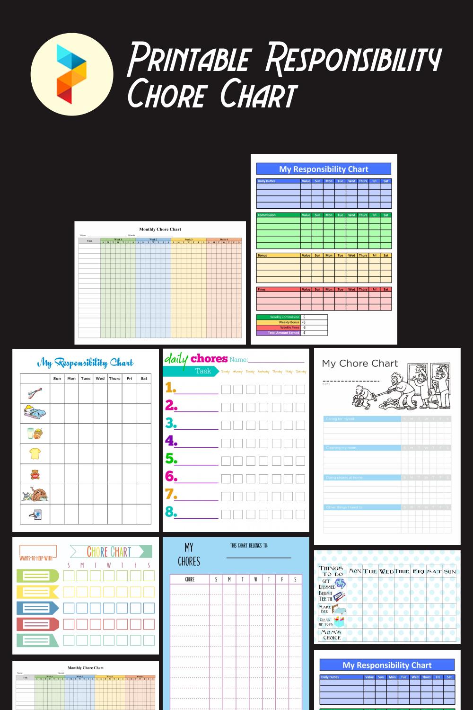 Printable Responsibility Chore Chart