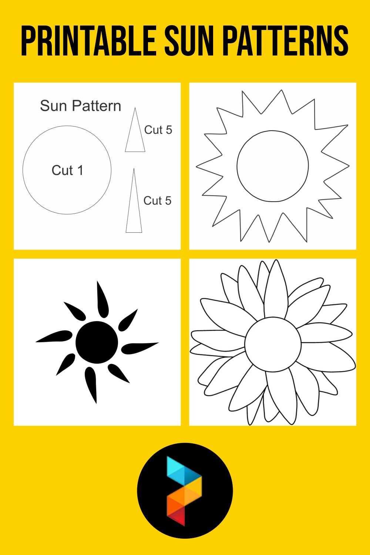 Printable Sun Patterns