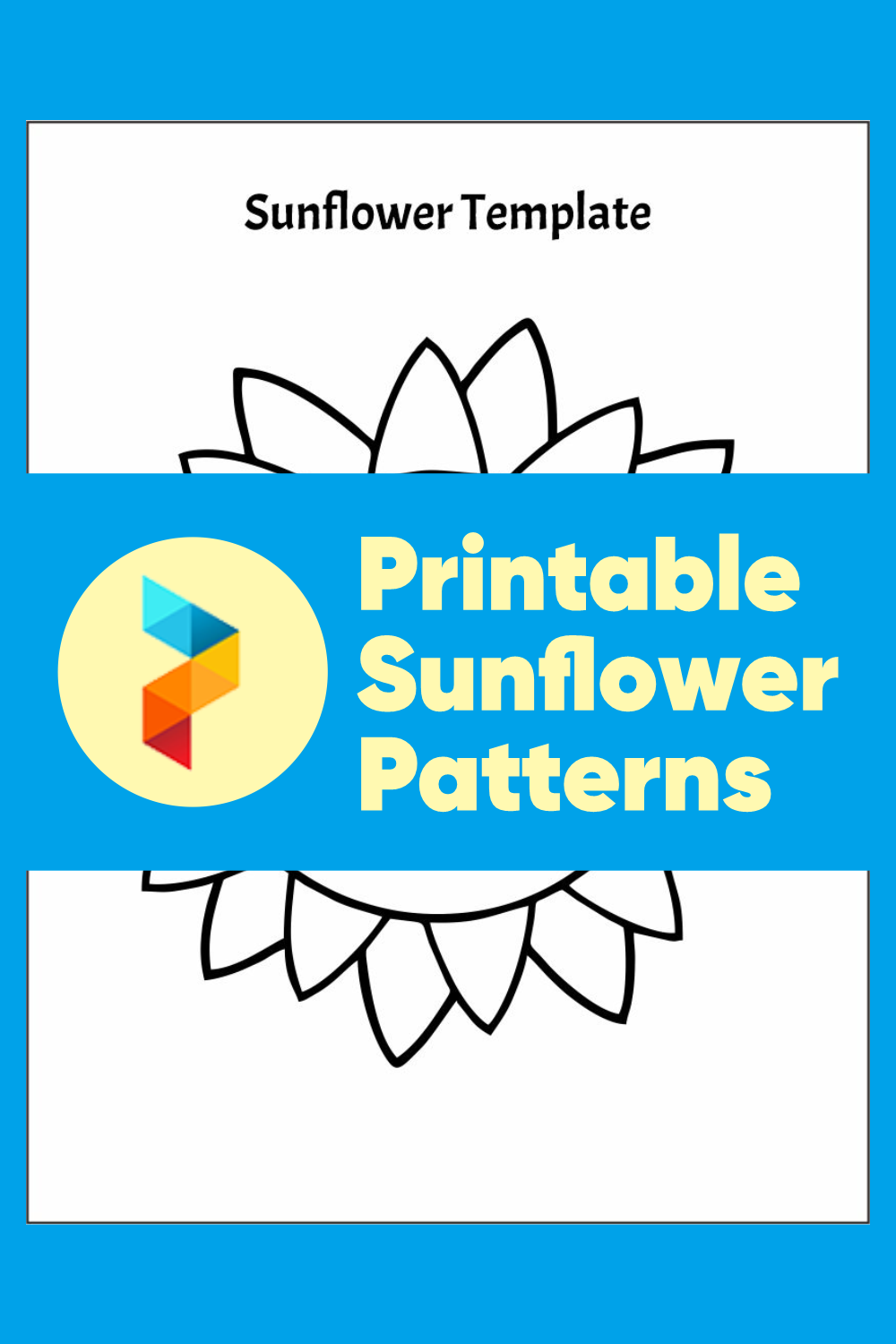 Printable Sunflower Patterns