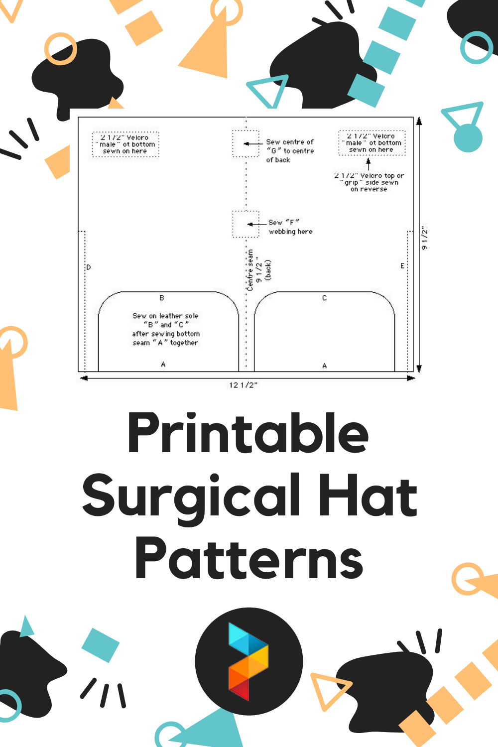 Printable Surgical Hat Patterns