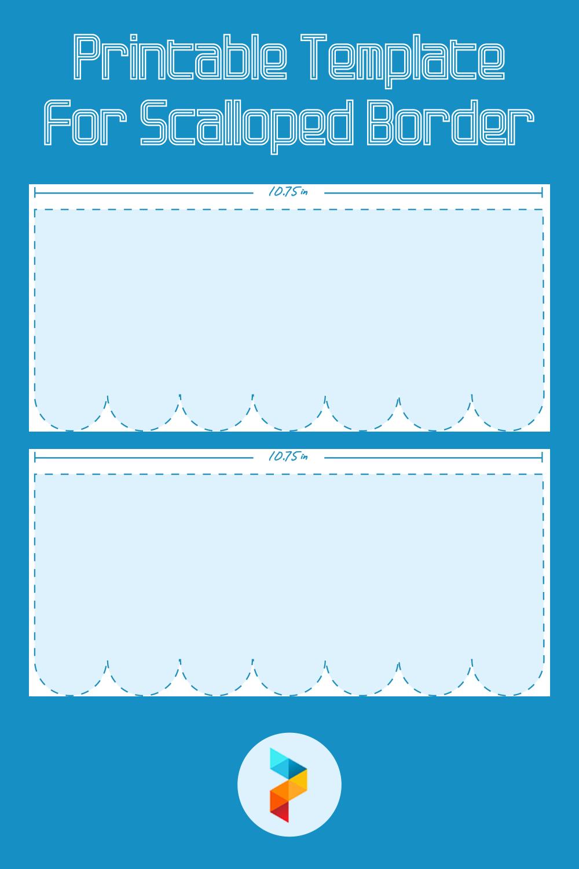 Printable Template For Scalloped Border