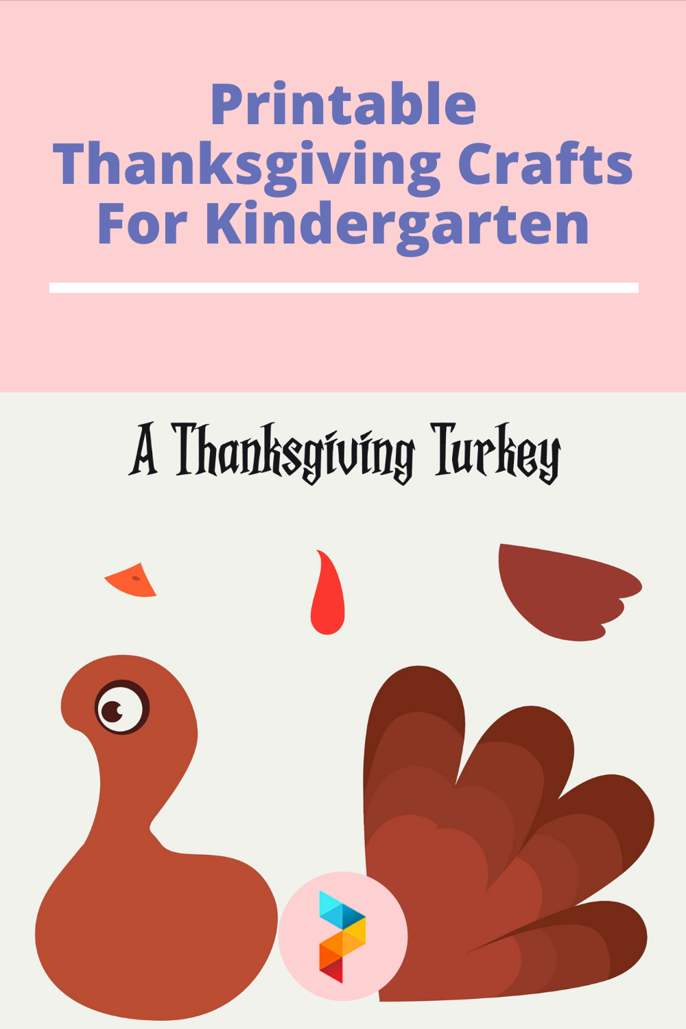 Printable Thanksgiving Crafts For Kindergarten