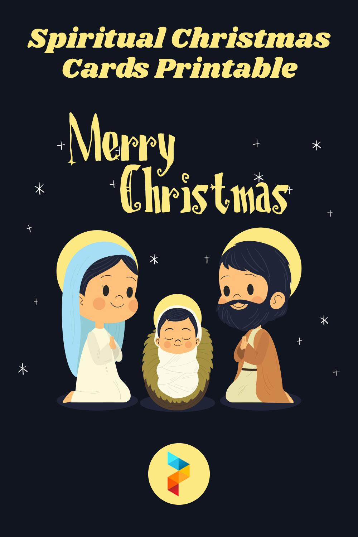 Spiritual Christmas Cards Printable