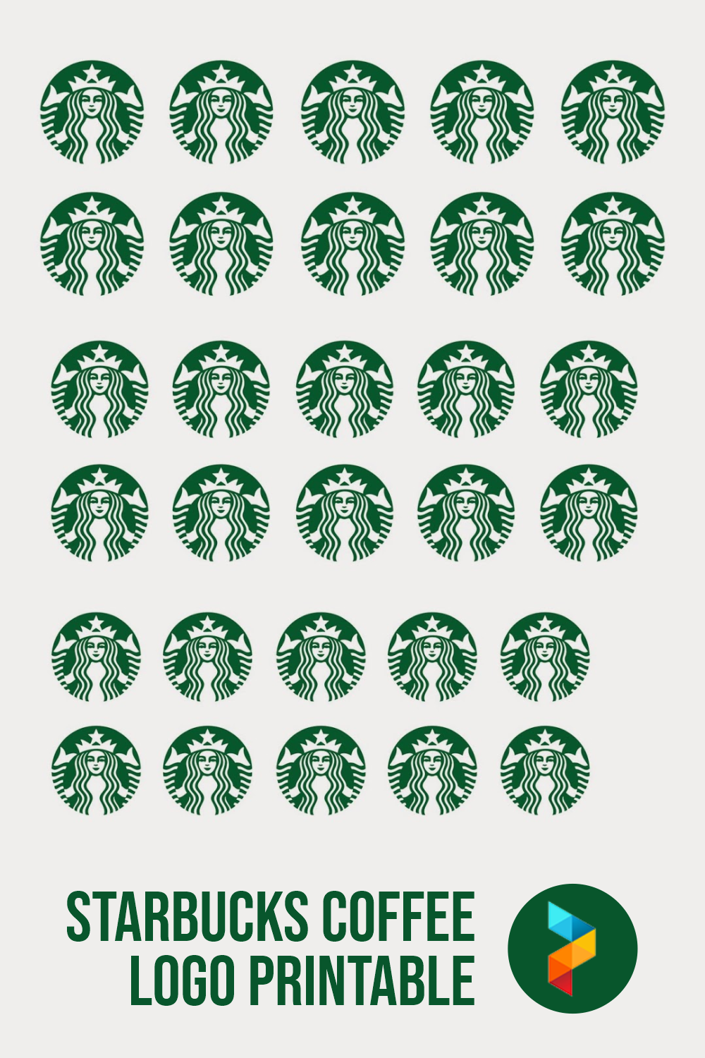 Starbucks Coffee Logo Printable