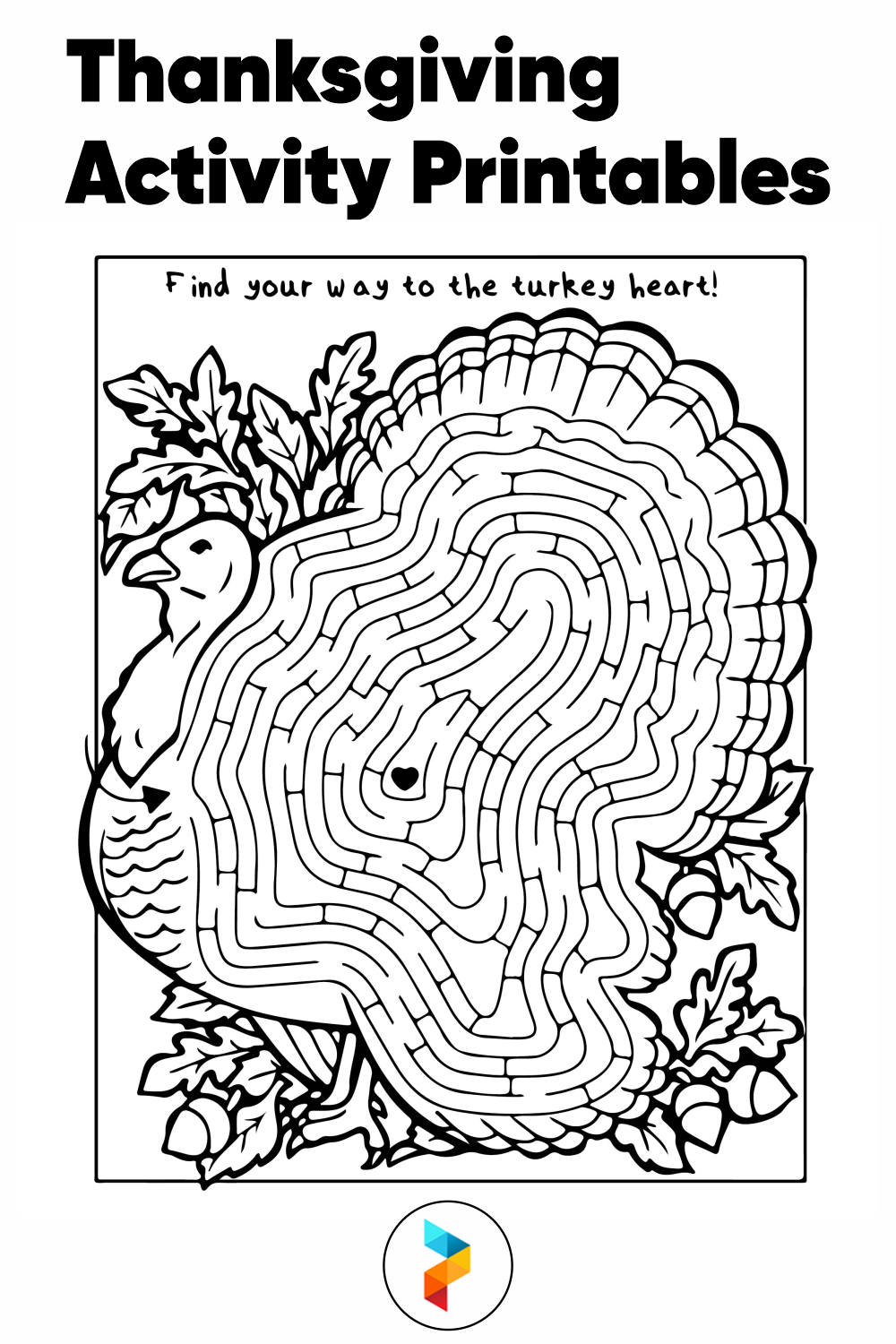 Thanksgiving Activity Printables