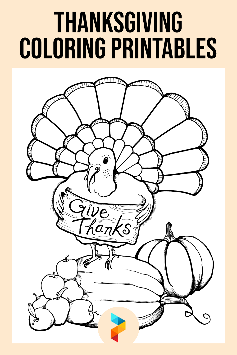 Thanksgiving Coloring Printables